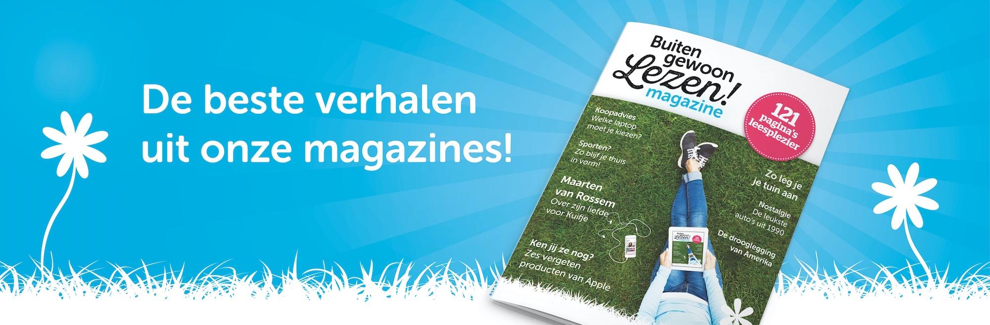 Buiten gewoon Lezen! magazine